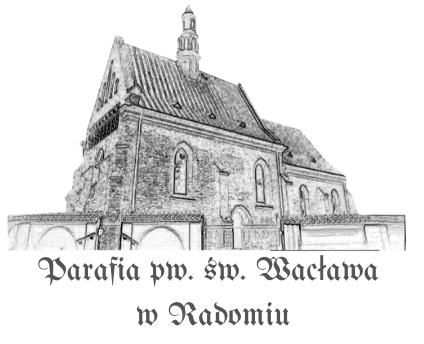Parafia św Wacława w Radomiu Logo